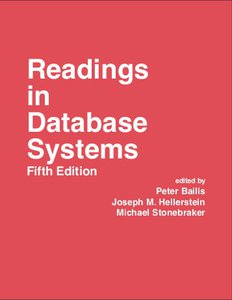 Readings in Database Systems